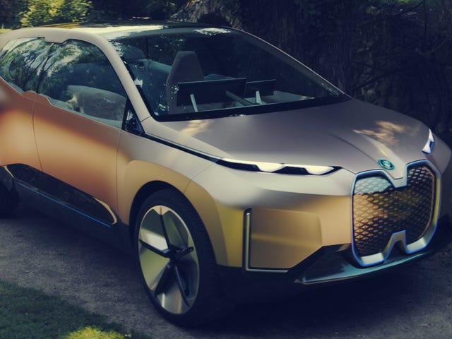 Wizja BMW iNext Concept to całość, na którą trzeba spojrzeć