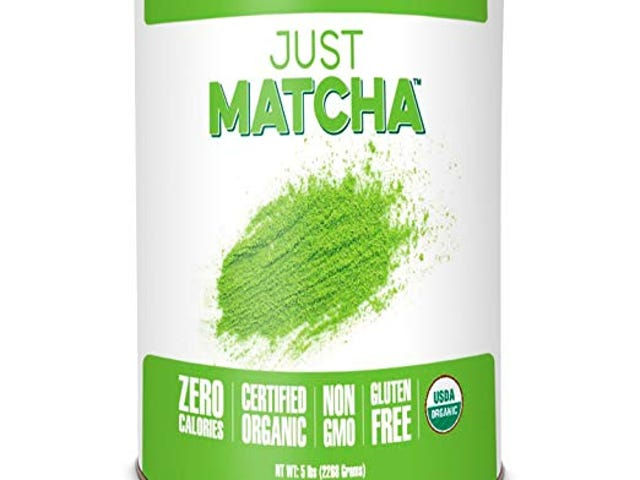 JUST MATCHA Matcha Green Tea Powder - 5 LBS - USDA Organic Culinary Grade (5 lbs) $53.19