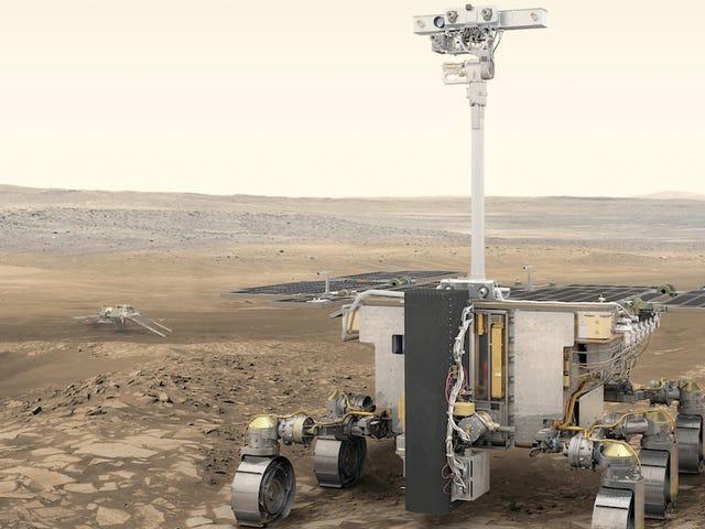 Cơ quan Vũ trụ Châu Âu sẽ gửi chiếc tàu tuần dương Mars Rover đầu tiên của mình đến một trong hai địa điểm bí ẩn này