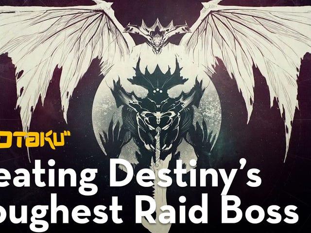 Last week on Kotaku Splitscreen, Jason and I talked about finally beating Destiny's King's Fall raid
