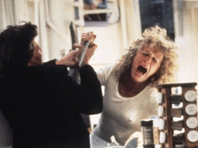 Glenn Close Keeps Her Fatal Attraction Knife Hanging in Her Kitchen
