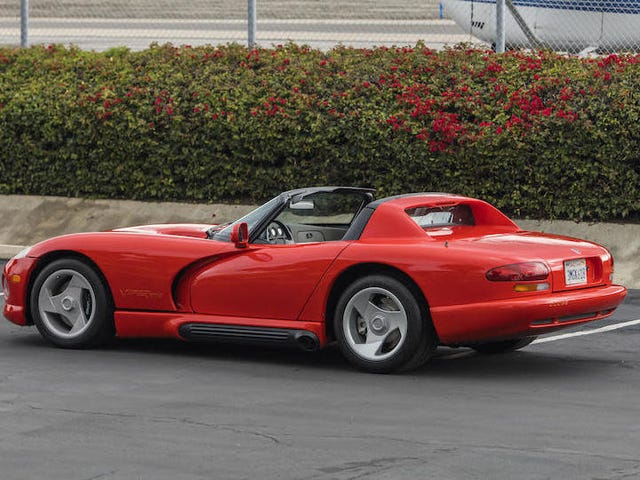 The Very First Dodge Viper, Owned By Lee Iacocca, Sells For $285,500