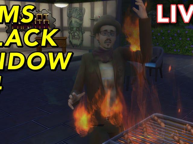 """Gita Jackson tem se casado e assassinado pessoas no The Sims 4 como parte do """"Black Widow Challe"""""""