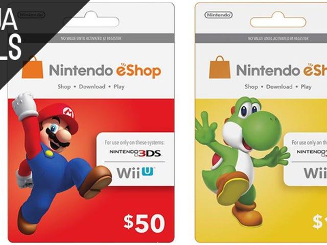 Заощадьте 10% на що-небудь з магазину Nintendo eShop або 20 доларів на Xbox Live Gold