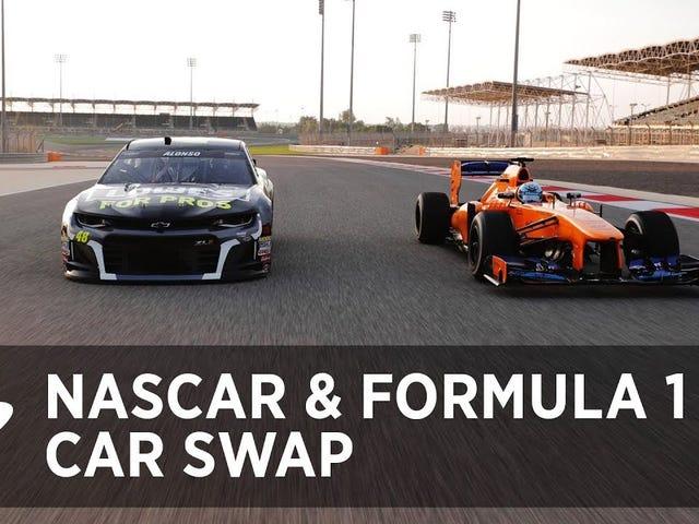Hoán đổi xe NASCAR và F1