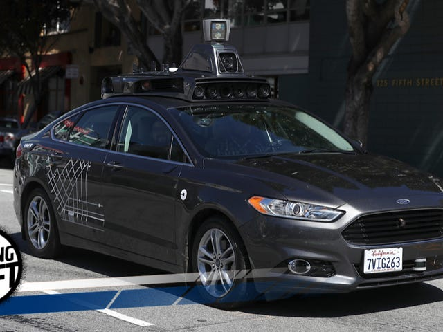 Autonomous Car Law Is About To Start Making Some Sense
