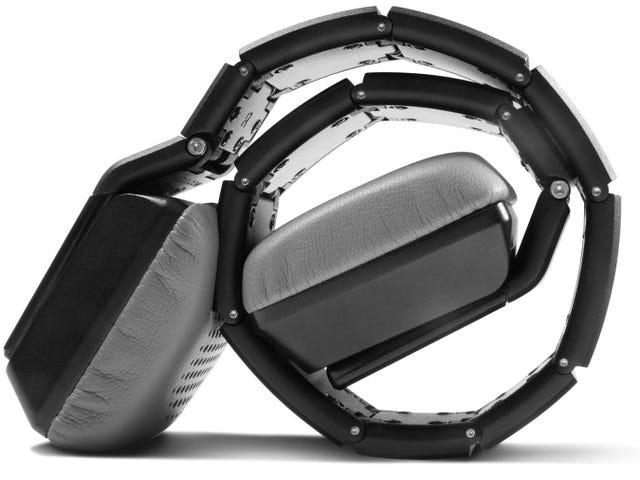 Estes auscultadores Roll-Up de 4.000 dólares nem sequer cobrem as orelhas