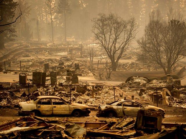 Accampamento Fuoco ya es. Incendio más mortal en la historia de California, y los números pueden crecer todavía más