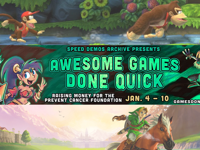 Watch The Week-Long Awesome Games Done Quick 2015 Marathon Right Here