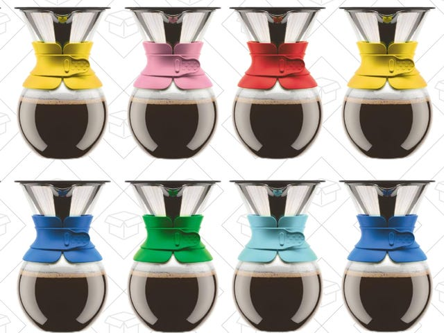 Bodum Makes A Beautiful Pour-over Carafe With A Permanent Filter