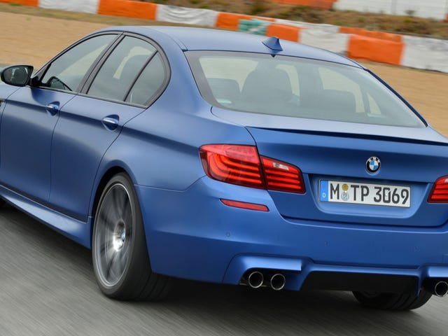 Real Live AWD BMW M5 Spied Testing In Artic Sweden