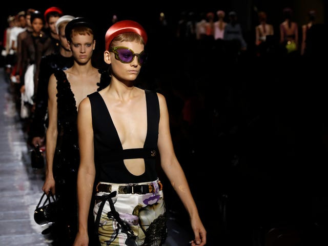 I'm So Sorry to Say That Prada Is Trying to Bring Bermuda Shorts Back
