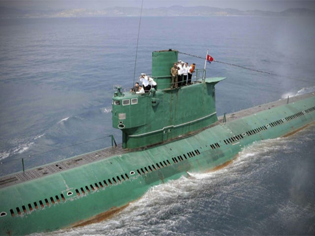 North Korea Is Frantically Searching For One Of Its Submarines: Report