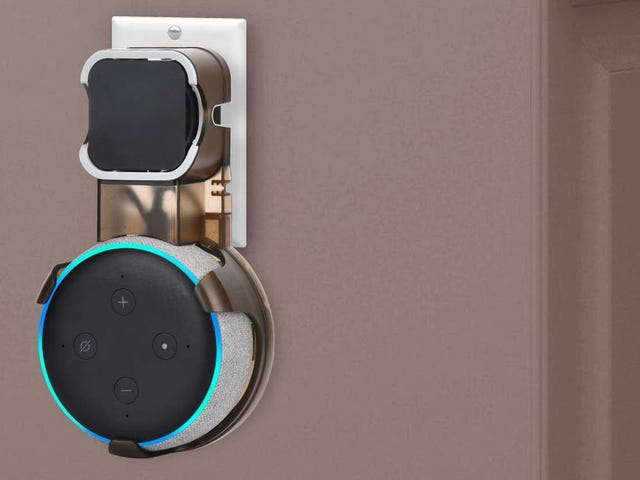 Mount Your Echo Dot Anywhere In Your Home For Only $10