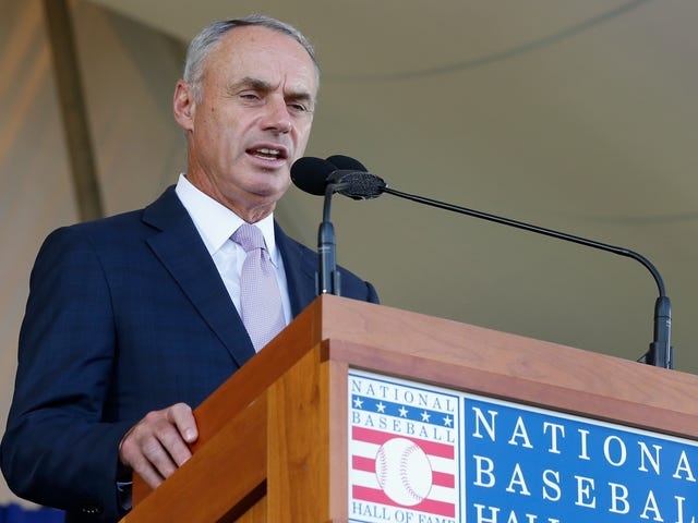 New York Times Curls Up On Rob Manfred's Lap