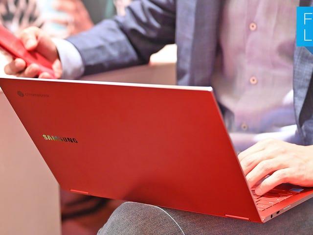 Samsung pourrait avoir créé le plus beau Chromebook de tous les temps