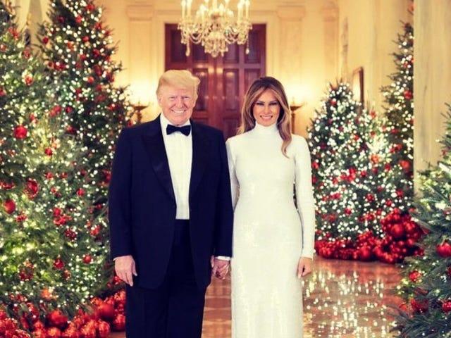 ห้ามใช้ต้นไม้เลือดในรูปทำเนียบขาวอย่างเป็นทางการในวันคริสต์มาส