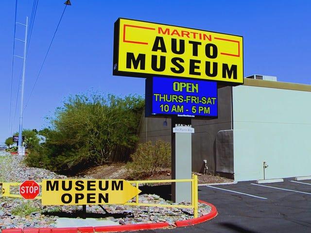 A Peek Inside the Martin Auto Museum