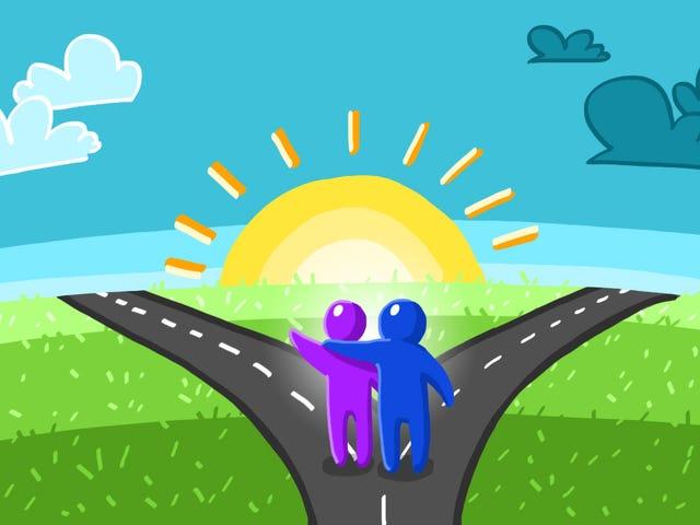 Πώς να υποστηρίξετε έναν αγαπημένο σας μέσω μιας μεγάλης αλλαγής ζωής