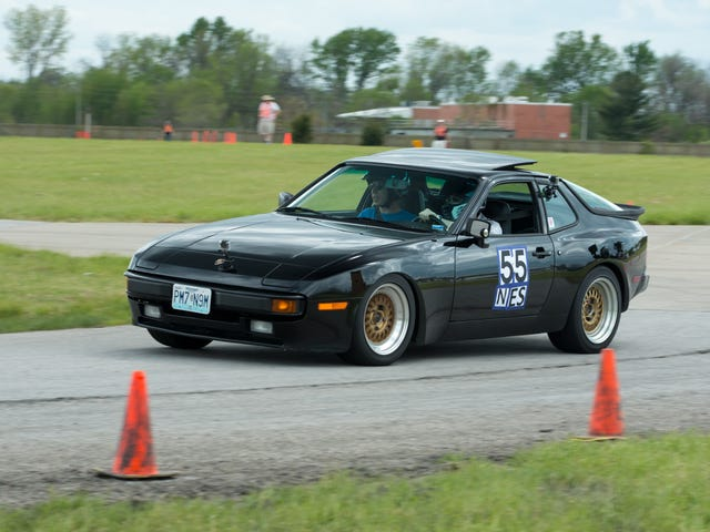 My First Autocross Was In A Borrowed Porsche