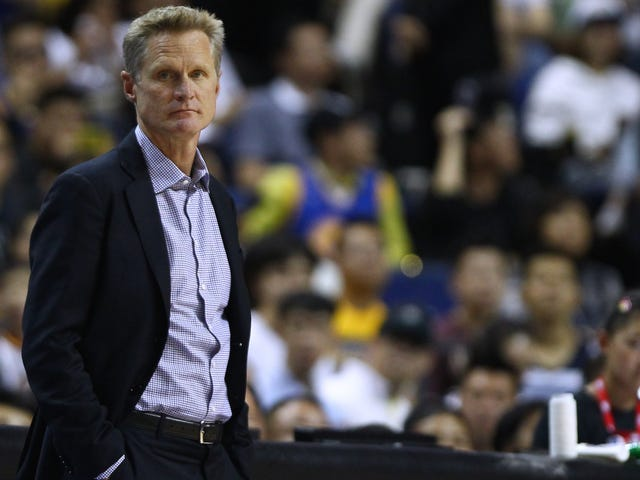 "Steve Kerr On Government's Unwillingness To Address Gun Violence: ""It's Disgusting And It's A Shame"""
