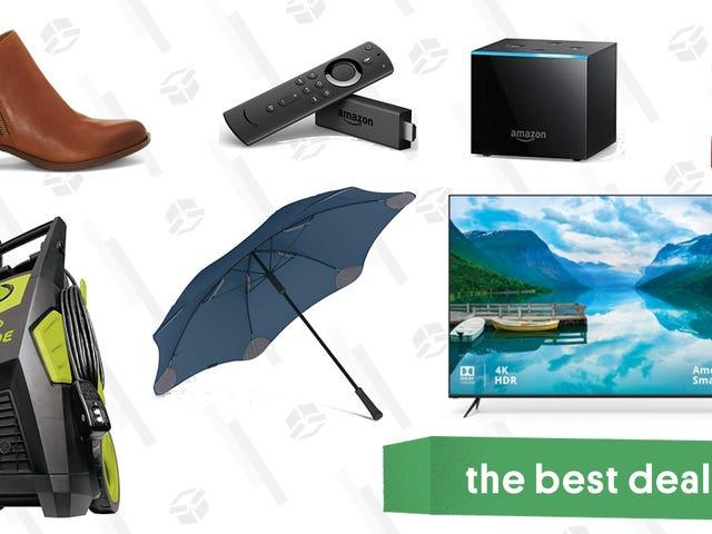 "Tuesday's Best Deals: Amazon Fire TV, Vizio 65"" 4K TV, Gatorade, & More"