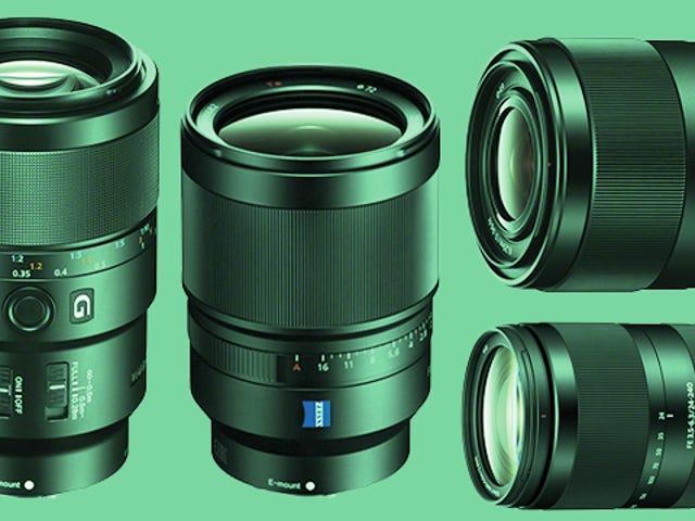 Une foule d'objectifs arrivent sur les appareils photo plein format A7 de Sony