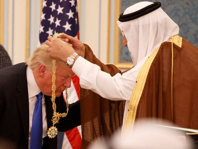 Defense Stocks Hit All-Time Highs After Trump Sells $110 Billion in Weapons to Saudi Arabia