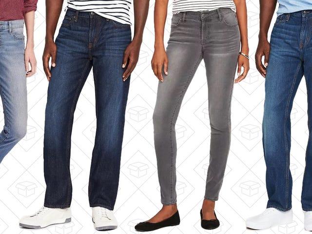 Mengambil Beberapa Jeans Baru Untuk Hanya $ 15 Di Tentera Laut Lama