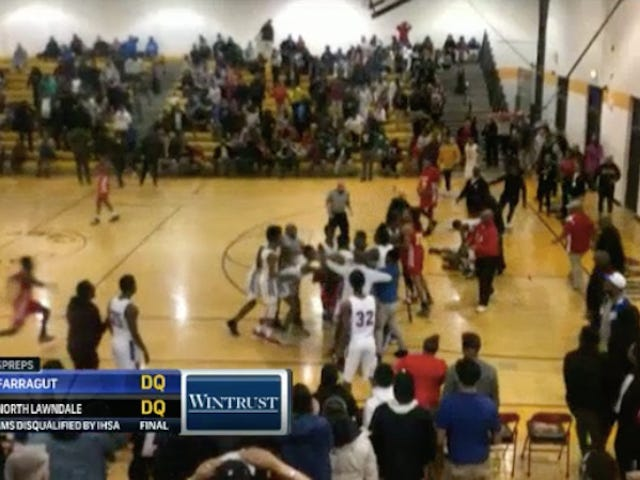 High School Basketball Brawl Gets Both Teams Disqualified From State Playoffs