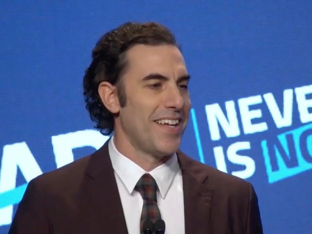 Sacha Baron Cohen Says Social Media Companies Have Created the 'Greatest Propaganda Machine in History'