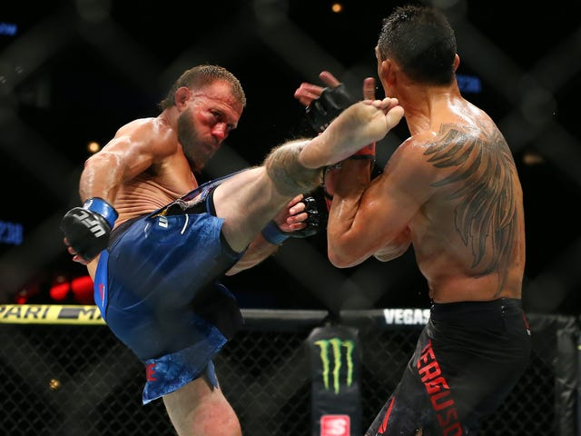 Donald Cerrone's Controversial Loss To Tony Ferguson Might've Ended Because He Blew His Nose At The Wrong Time