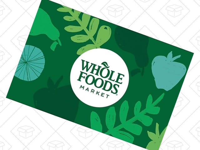 Save $10 At Whole Foods With This Discounted Gift Card