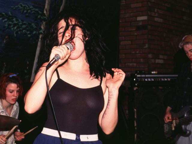 They're Bikini Kill, and all their kickass music is on streaming now