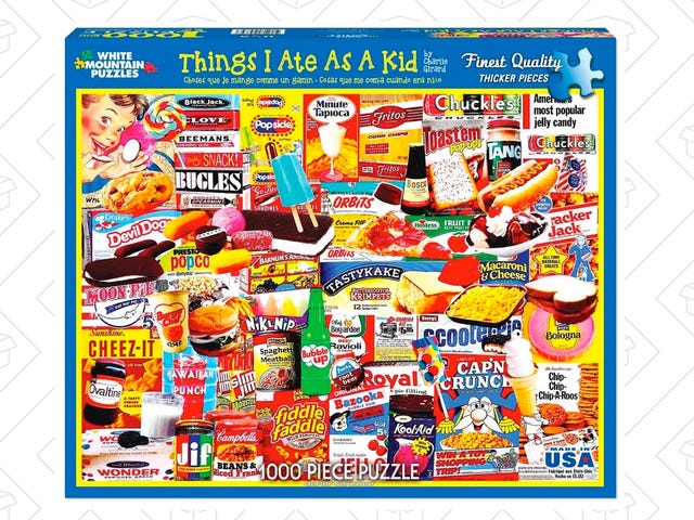Salivate Over This Junk Food-Themed Puzzle, Only $13