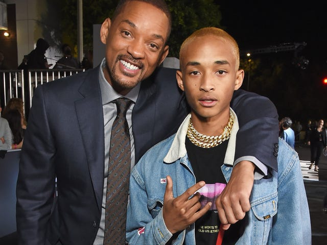 En su último regalo a Instagram, Will Smith parodia el video musical 'Icon' de Jaden Smith para celebrar 100 millones de canciones