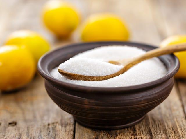 Кислота лимонная является в основном кислой глутамат натрия