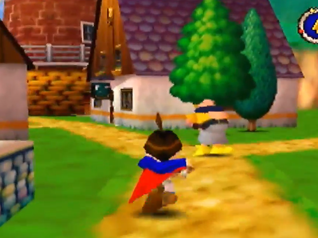 Jeg liker fortsatt å se på folk Spill <i>Quest 64</i>