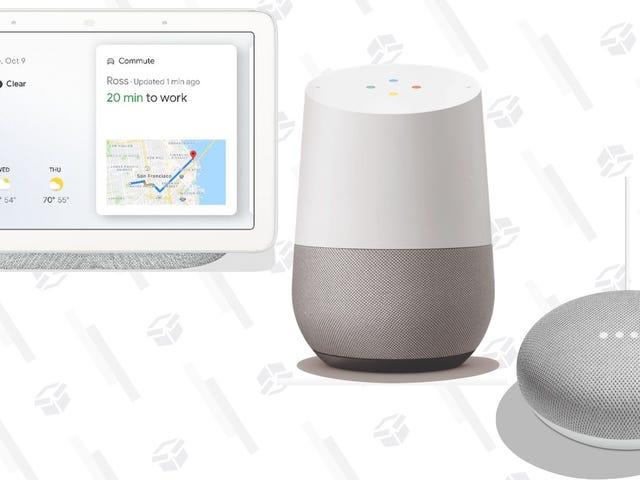 Дайте вашему дому мозг с черными пятницами Google Home Deals
