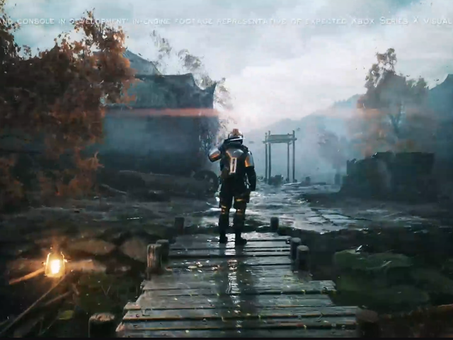 Вот как выглядит графика Xbox Series X