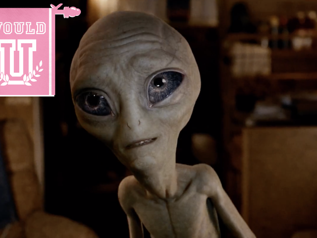 Una domanda estremamente urgente ora che gli alieni sono reali: ne faresti uno?
