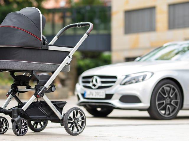 """Jag beklagar de dåliga föräldrarna som inte kan pröva """"Mercedes of Baby Carriages"""""""