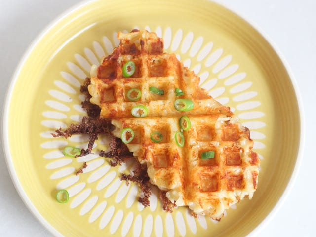 You Should Waffle Leftover Mac and Cheese