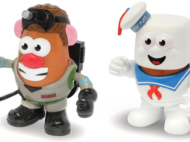 Mr. Potato Head Joins Both Sides of the Ghost-Busting Battle