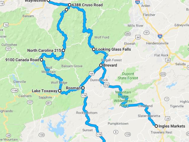 Yesterday, I chased four Miatas on some mountain roads