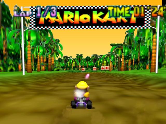 The Speedrunner Smashing Records On Mario Kart 64's Donkey Kong Track