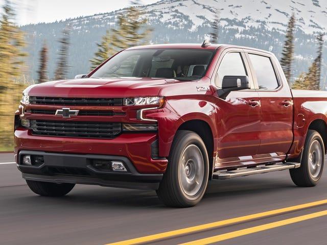 2020 Chevy Silverado Diesel Scores 33 MPG Highway, blir USAs mest drivstoffeffektive pickup