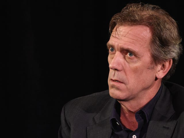 Hugh Laurie, Like All Of Us, Is Aging