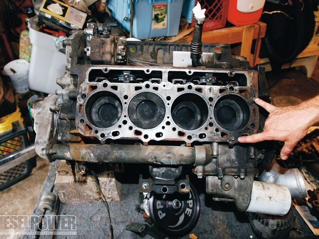 I don't want it to be head gaskets, but it's probably head gaskets.
