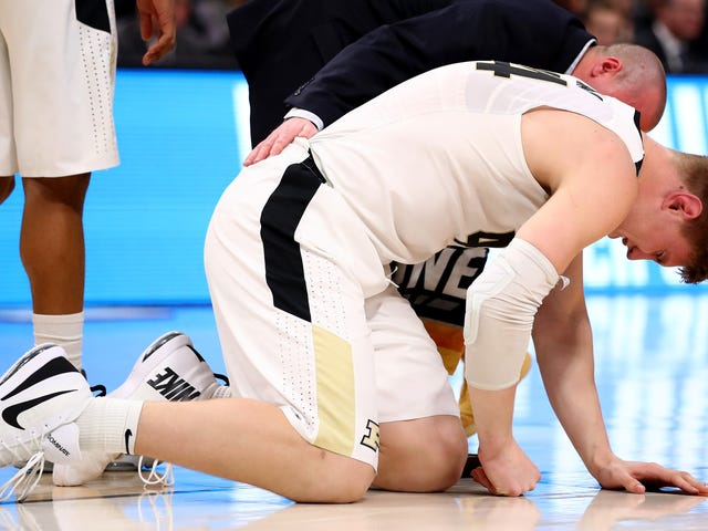 Purdue Loses Isaac Haas For The Rest Of The NCAA Tournament